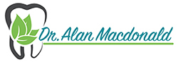 Dr. Alan Macdonald, dentist Logo